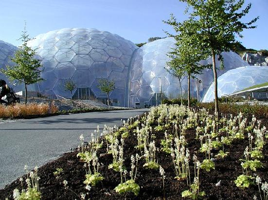 Visiting the Eden Project, in Cornwall